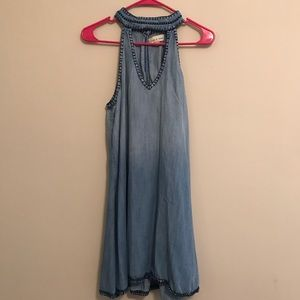 Cloth & Stone by Anthropologie Chambray dress